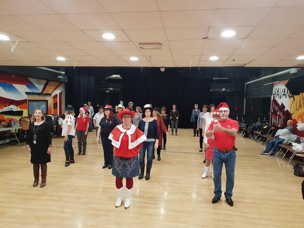 Le Bayou Dancers fête Noël - 19 Décembre 2018